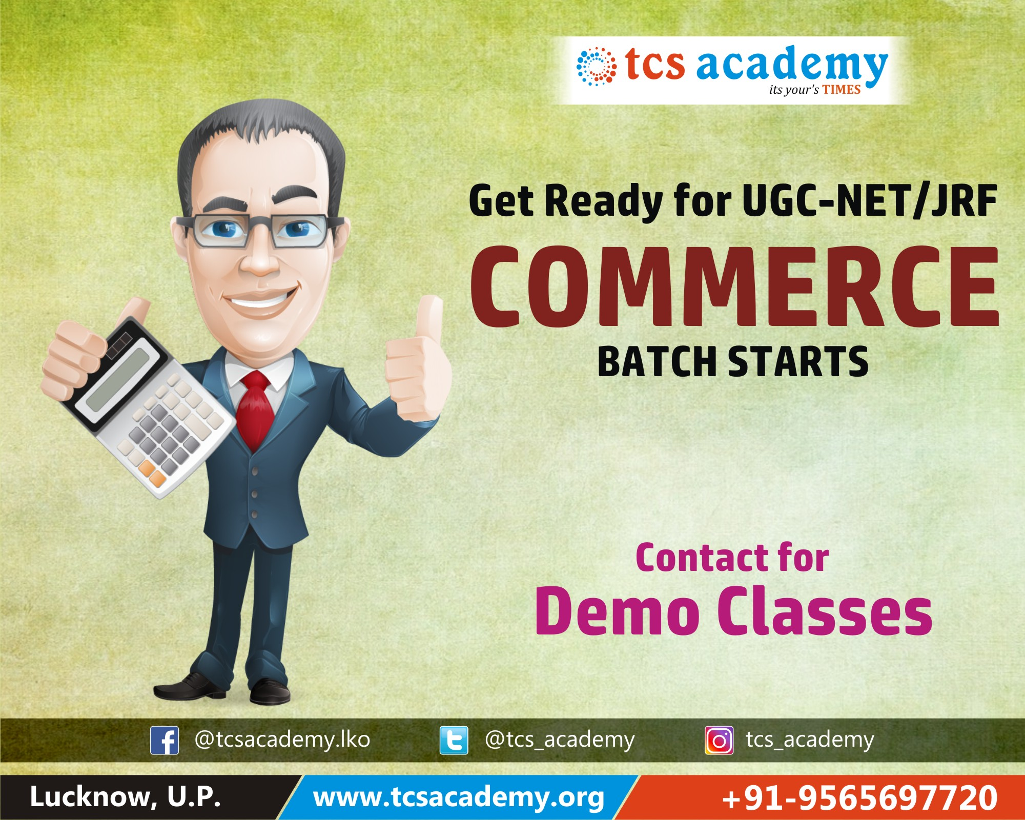 best Commerce net coaching in lucknow