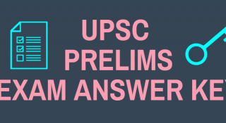 IAS Exam 2018 Answer Key : General Studies Prelims Exam Answer Key