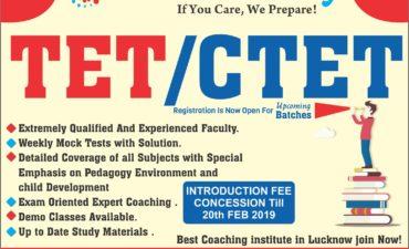 TCS ACADEMY - TET CTET COACHING CENTER IN LUCKNOW - 9565697720