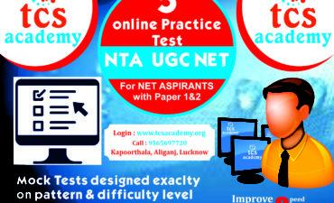 TCS ACADEMY- NTA UGC NET JRF ONLINE MOCK TEST,Ugc Net Coaching